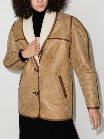 Anawa Shearling Coat