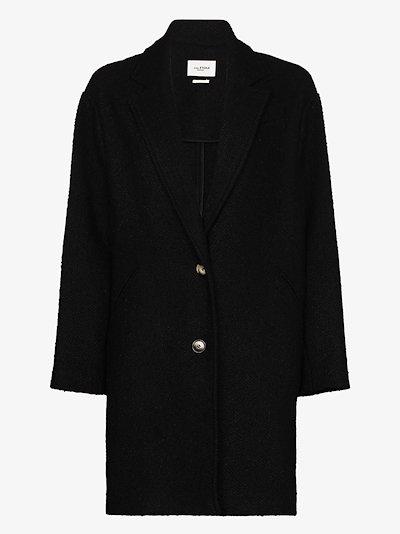 Dante single-breasted coat