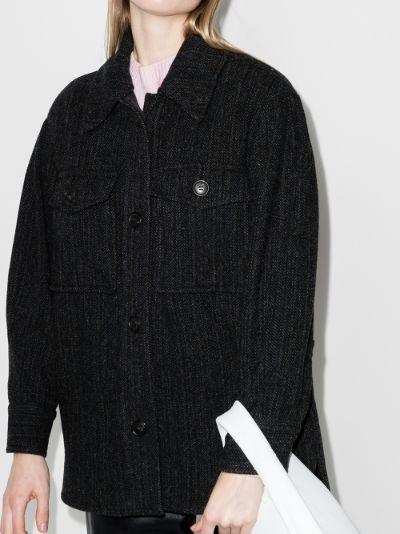 Garvey oversized wool coat
