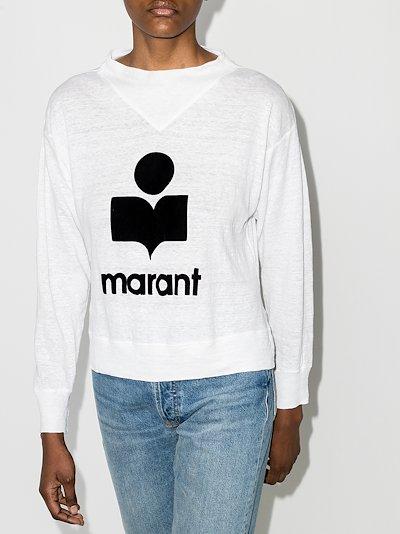 Kilsen logo print sweatshirt