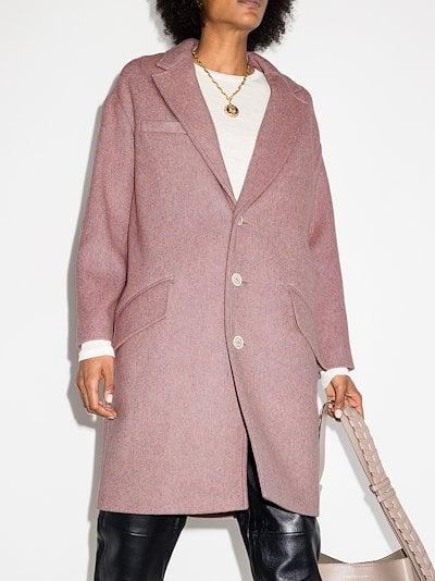 Limi single-breasted coat
