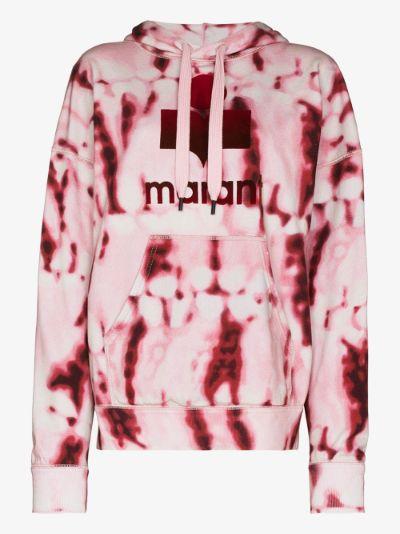 Mansel tie-dye logo hoodie