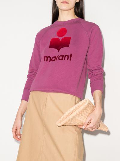 Milly logo print sweatshirt