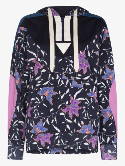 Nanselia floral hoodie