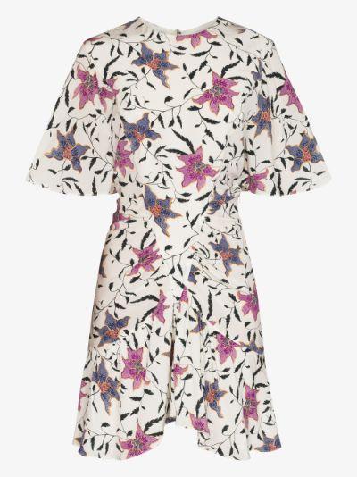 Osias floral print mini dress