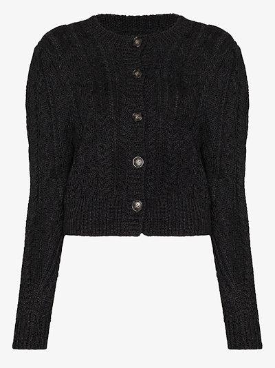Rianne wool knit cardigan