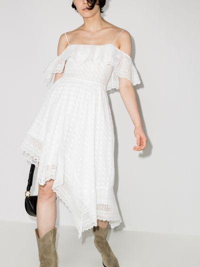 Timoria broderie anglaise mini dress