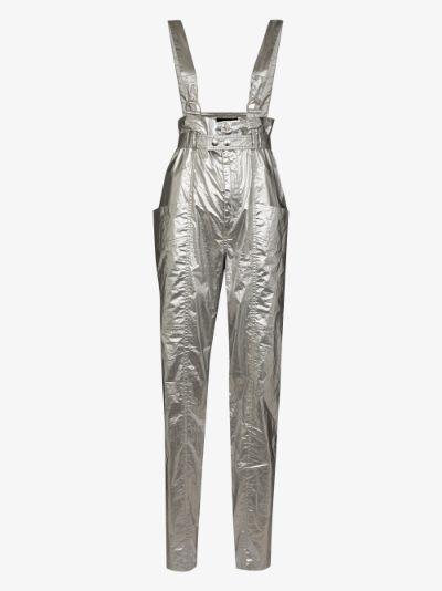 Gilekla Metallic Tapered Trousers