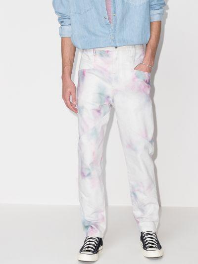 Jowland tie-dye jeans