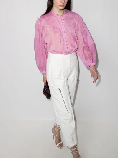 Kiledia puff sleeve blouse