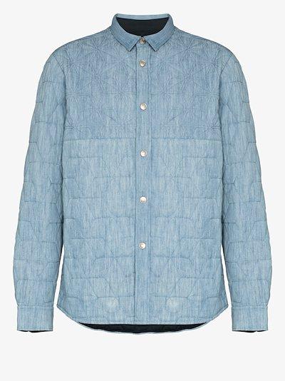 Milako stitched denim shirt