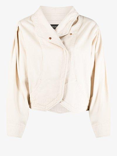 Pauline Puff Sleeve Denim Jacket