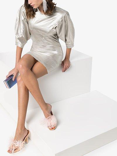 Radela pouf sleeve dress