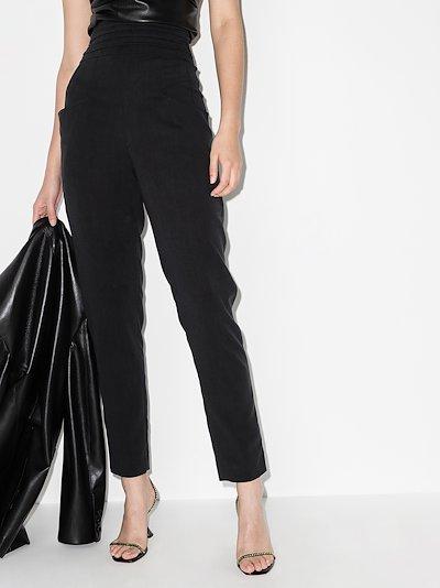 Stoda high waist tapered trousers