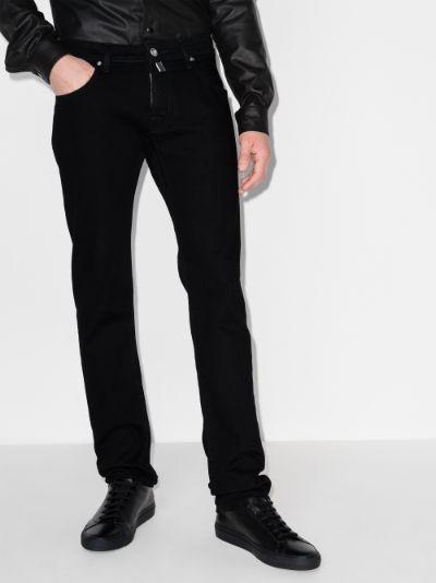 001 slim leg jeans