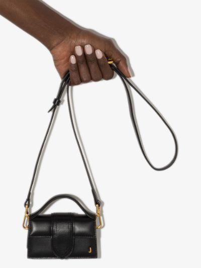 black Le Petit Bambino leather mini bag