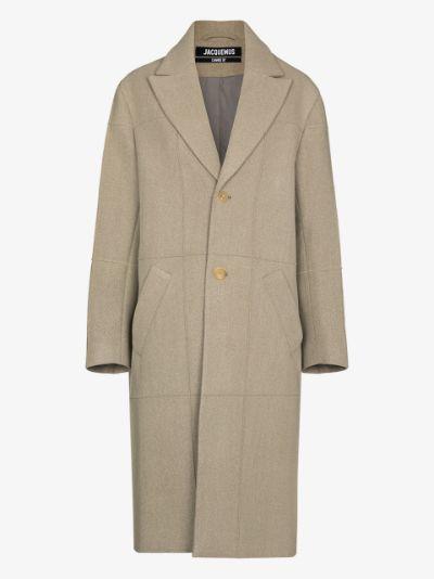 Carro single-breasted coat