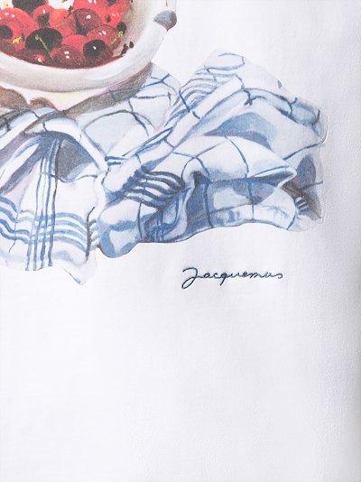 Cerises graphic print t-shirt