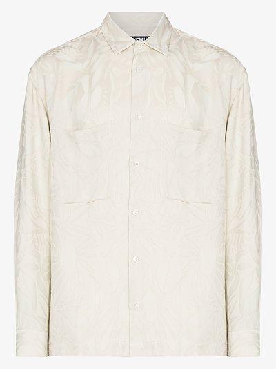 La Chemise Baou floral jacquard shirt