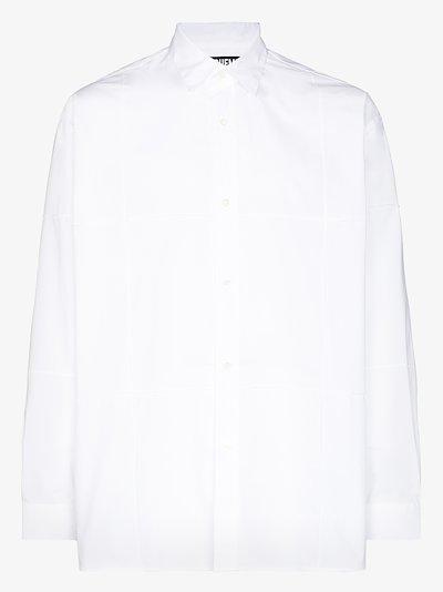 La Chemise Carro embroidered cotton shirt