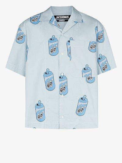 La Chemise Jean can print shirt