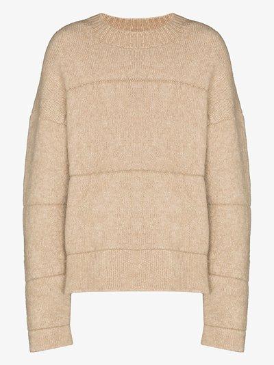 La Maille crew neck sweater