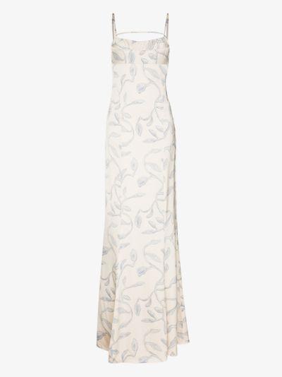 la robe Camargue printed maxi dress