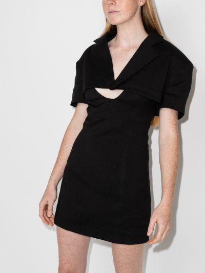 La Robe Gardian layered jacket dress
