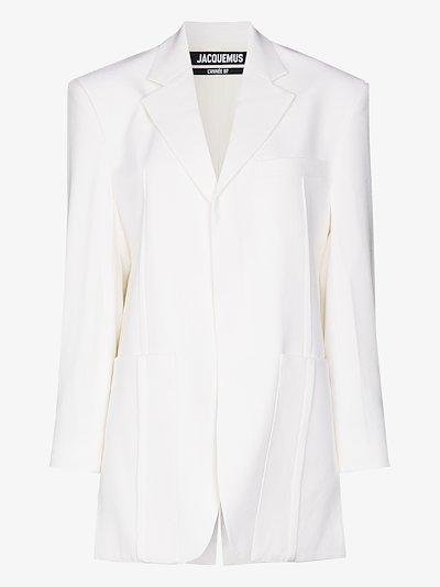 La Veste d'Homme oversized blazer