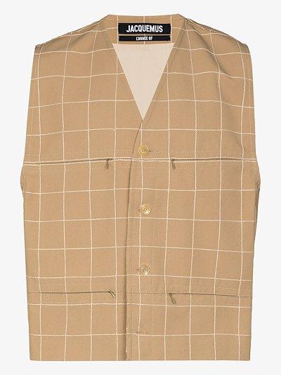 Le Gilet button-up waistcoat