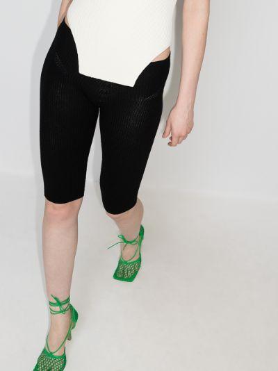 Le legging Arancia knitted cycling shorts