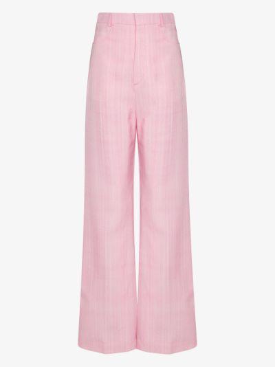 Le Pantalon Sauge High Waist Trousers