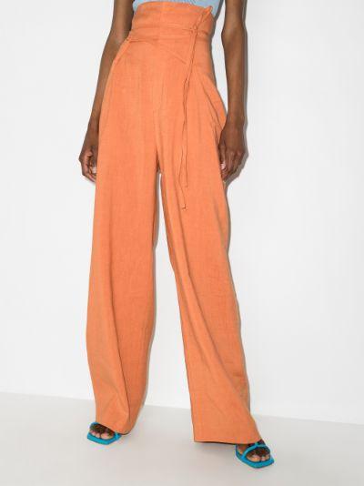 Novio high-waisted trousers