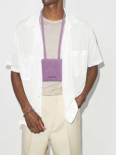purple Le Gadjo pouch shoulder bag