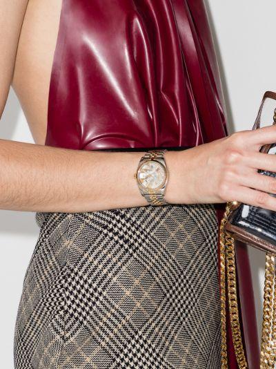 reworked vintage Rolex Datejust watch