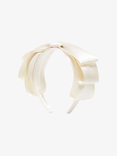 ivory Katya silk headband