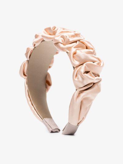 pink Amelia silk headband