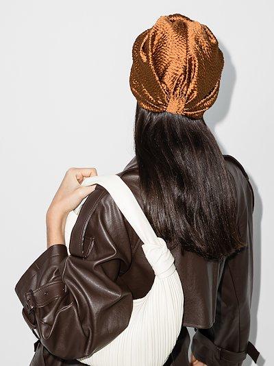 Topaz Etta silk turban