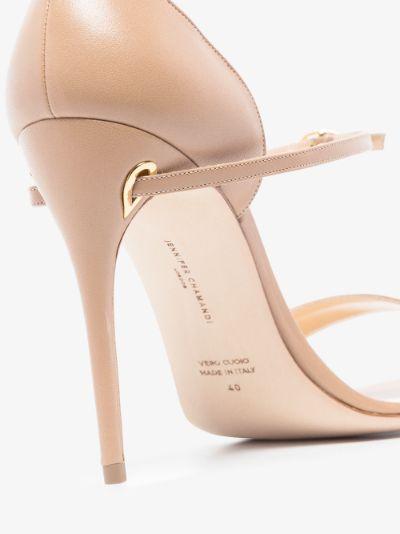 neutral Rolando 105 leather sandals