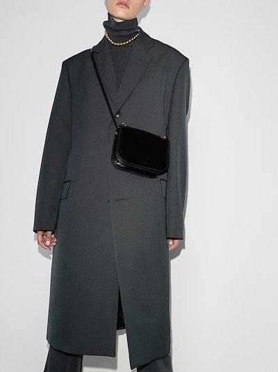 black Taos small leather cross body bag
