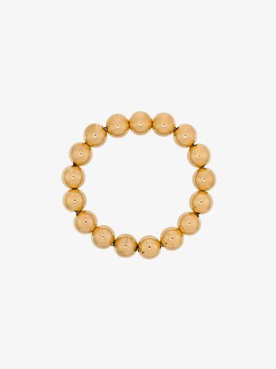 Gold tone Sphere bracelet