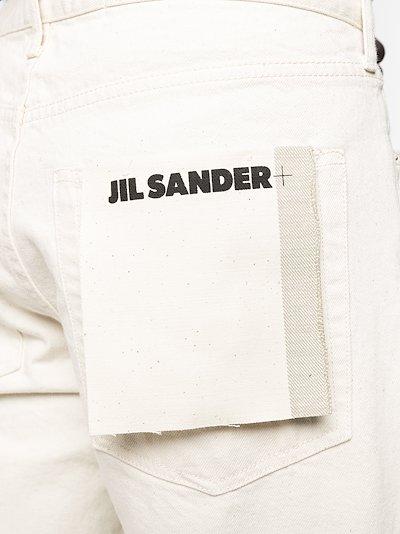 logo-patch jeans