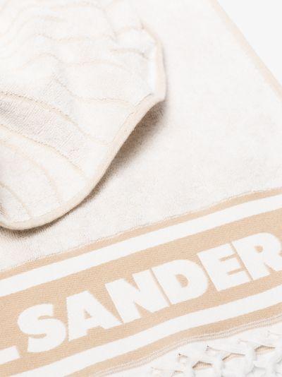 Neutral logo cotton towel