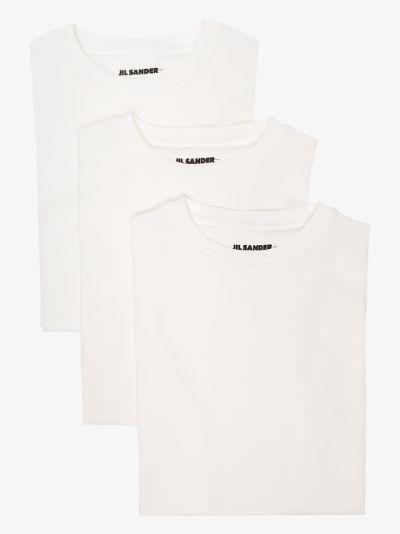 Plus cotton T-shirt set
