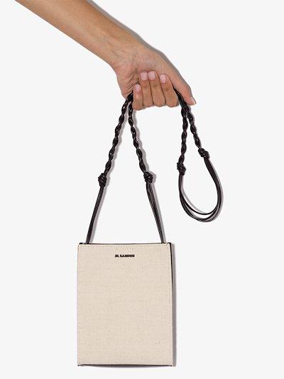White Tangle small Cross Body Bag