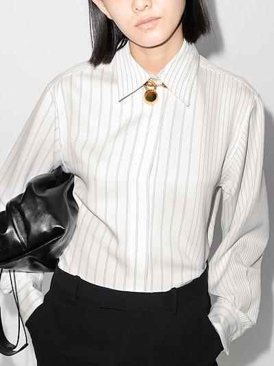 X Browns 50 striped shirt