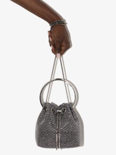 Black Bon Bon top handle mini bag