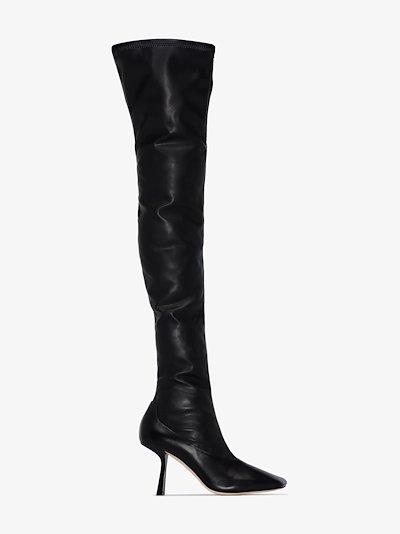 black Mire 85 thigh-high boots
