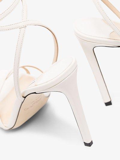 Metz 100mm charm-embellished sandals
