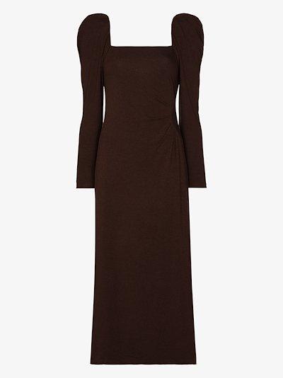 Ember New World square neck dress